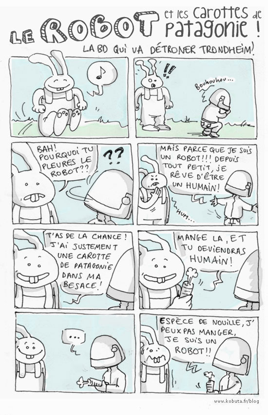 robot lapinot