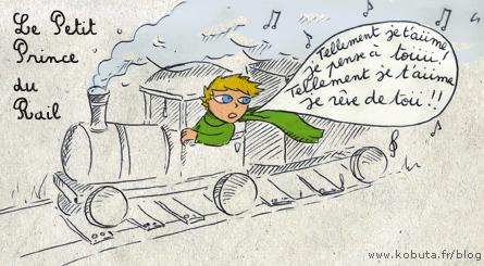 bd petit prince du rail