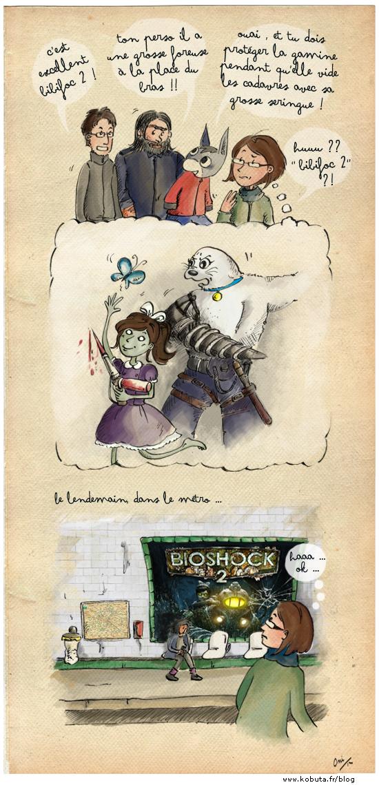 Bibishock : Bioshock et Bibifoc